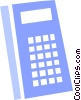 Vector Clipart image  of a Calculators