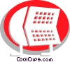 Rolodex Vector Clip Art picture