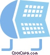 Rolodex Vector Clipart image