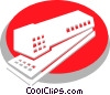Vector Clipart picture  of a Staplers