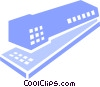 Staplers Vector Clip Art graphic