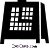 Mantle Clocks Vector Clip Art image