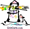 Lighthouses Vector Clip Art image
