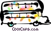 Double-Decker Buses Vector Clipart picture