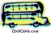 Double-Decker Buses Vector Clipart illustration