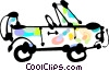 Four-Wheel Drive Vehicles Vector Clip Art picture