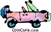 Vector Clipart picture  of a Four-Wheel Drive Vehicles