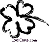 Shamrocks Vector Clip Art picture