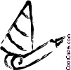 Vector Clipart illustration  of a party hat and noise maker