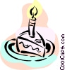 Vector Clipart illustration  of a Birthday Cakes