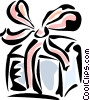 Vector Clip Art picture  of a Birthday Presents Gifts