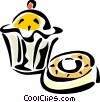 Vector Clipart illustration  of a Muffins
