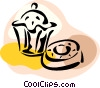 Vector Clip Art picture  of a Muffins