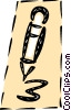 Vector Clipart graphic  of a Ballpoint Pens