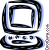 Monitors Vector Clip Art picture