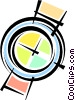 Vector Clipart illustration  of a Wristwatches