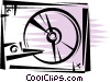Hard Disk Drives Vector Clipart image