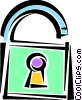 Keys and Locks Vector Clipart image