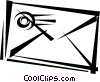 Vector Clipart graphic  of a Envelopes