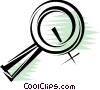 Magnifying Glasses Vector Clip Art image