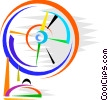 Electric Fan Vector Clipart image