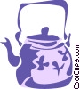 Vector Clipart picture  of a Kettles