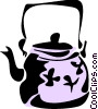 Vector Clipart illustration  of a Kettles