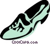 Vector Clip Art image  of a Dress Shoes