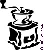 Vector Clipart picture  of a Coffee Grinders