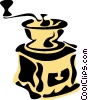 Coffee Grinders Vector Clip Art graphic
