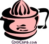 Vector Clip Art image  of a Juicer