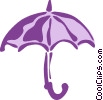 Umbrellas Vector Clip Art picture