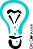 Light bulbs Vector Clip Art graphic