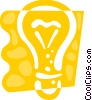 Light bulbs Vector Clipart picture