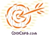 Archery Vector Clipart illustration