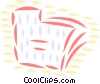 Vector Clip Art graphic  of a File Folders