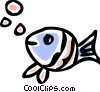 Miscellaneous Fish Vector Clipart graphic