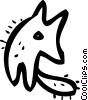 Misc Dogs Vector Clipart illustration