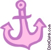 Vector Clipart illustration  of an Anchors