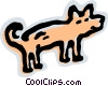 Misc Dogs Vector Clip Art picture