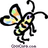 Vector Clip Art graphic  of a Flies