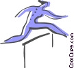 Vector Clipart picture  of a Hurdles