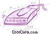 Modems Vector Clipart illustration