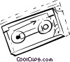 Vector Clipart illustration  of a back up disk