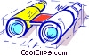 Binoculars Vector Clipart illustration