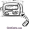 Pagers Vector Clipart picture