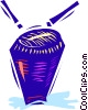 Vector Clip Art graphic  of a Drums
