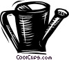Vector Clipart illustration  of a Watering Cans