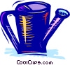Vector Clipart picture  of a Watering Cans