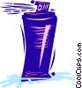 Hair Spray Vector Clip Art picture